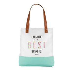 BENEFIT COSMETICS Large Canvas Tote Bag